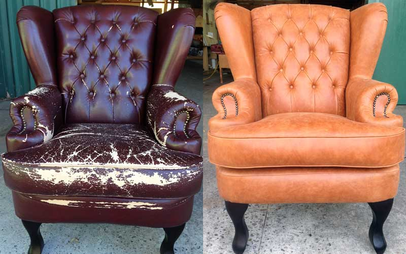 Chesterfield Wingback Armchair