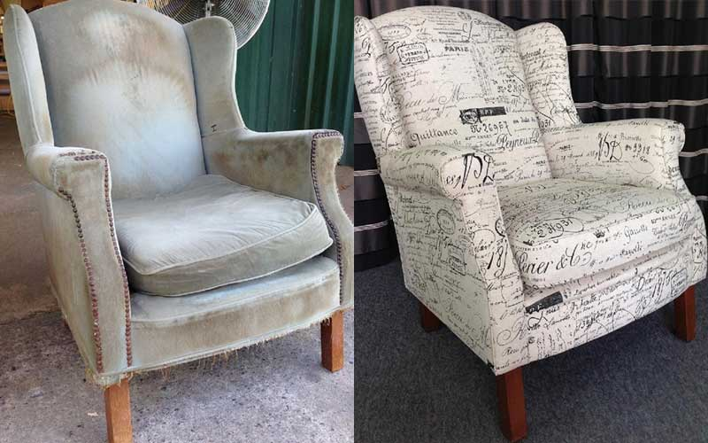 Wingback Armchair Warwick Revenge Natural