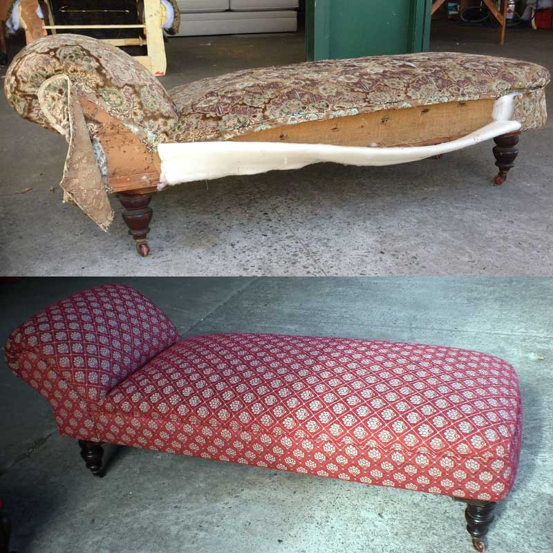 Restoration & Reupholstery - Chaise