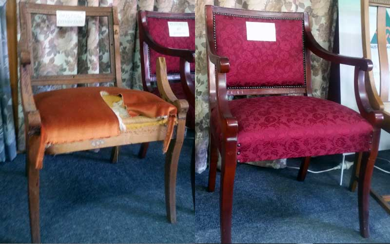 Restoration & Reupholstery - Chair