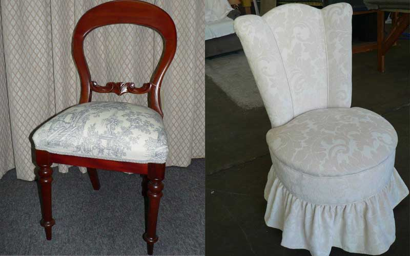 Reupholstery & Restoration - Chairs