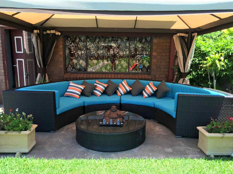 Reupholstery Outdooor Setting & Cushions