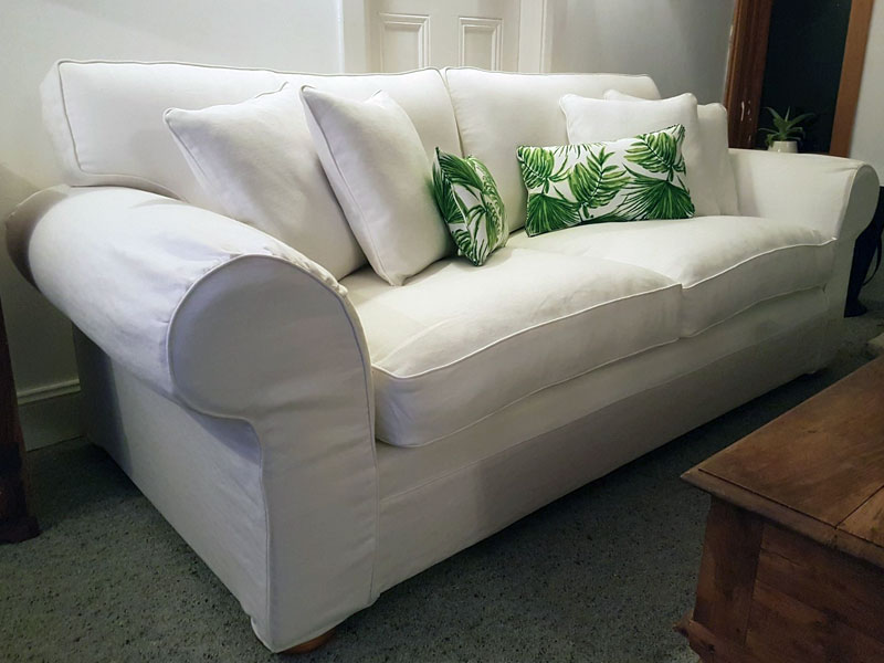 Reupholstery - Lounge with loose covers