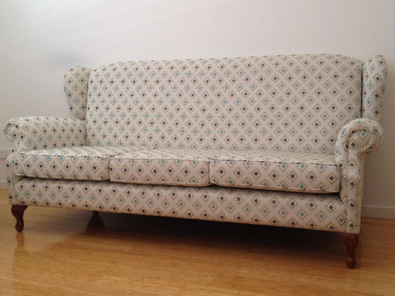Reupholstery - Wingback Lounge