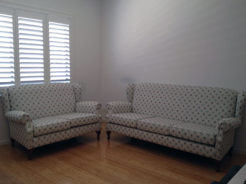 Restoration & Reupholstery - Lounge Suite