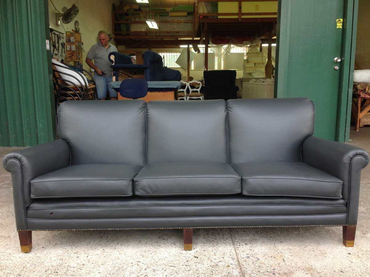 Project 008 - 3 Seater Lounge - Domestic Furniture Restoration & Reupholstery