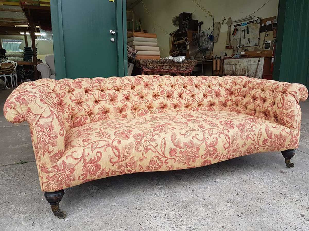 Project 009 - Lounge - Domestic Furniture Restoration & Reupholstery