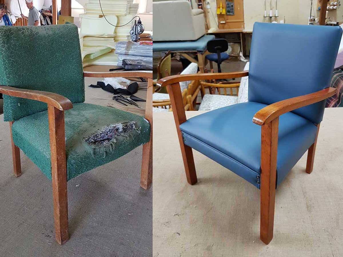 Project 010 - Kids Chair - Domestic Furniture Restoration & Reupholstery