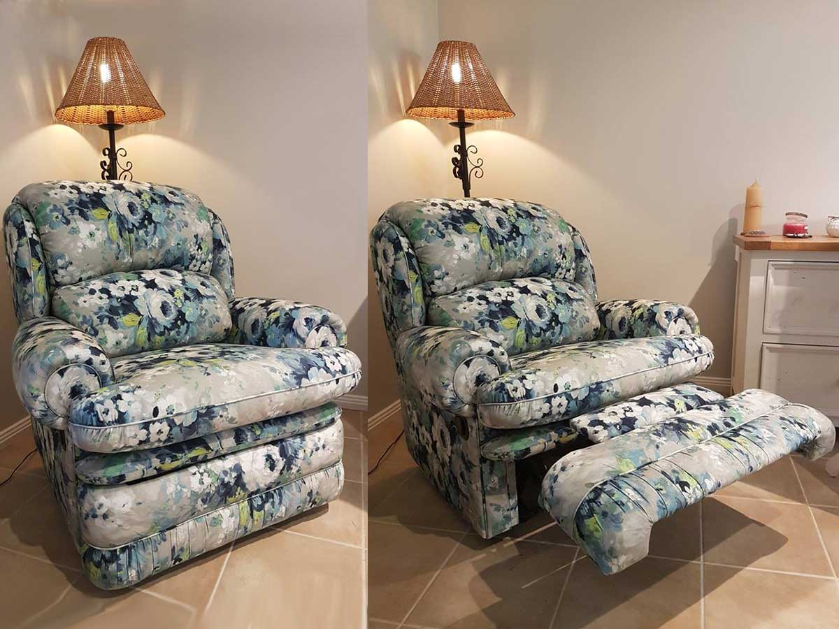 Project 011 - Recliner - Domestic Furniture Restoration & Reupholstery