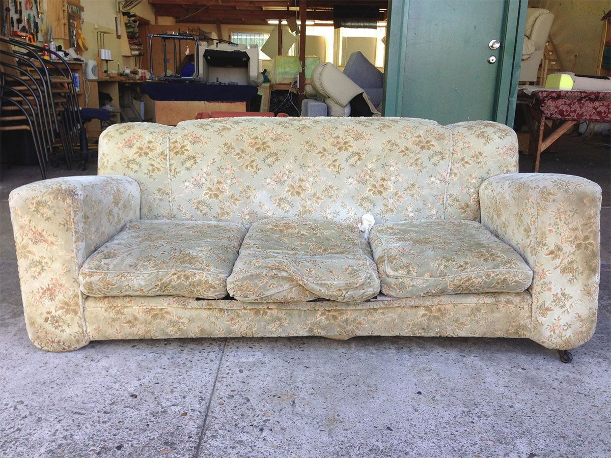 Project 001 - Club Suite - Domestic Furniture Restoration & Reupholstery