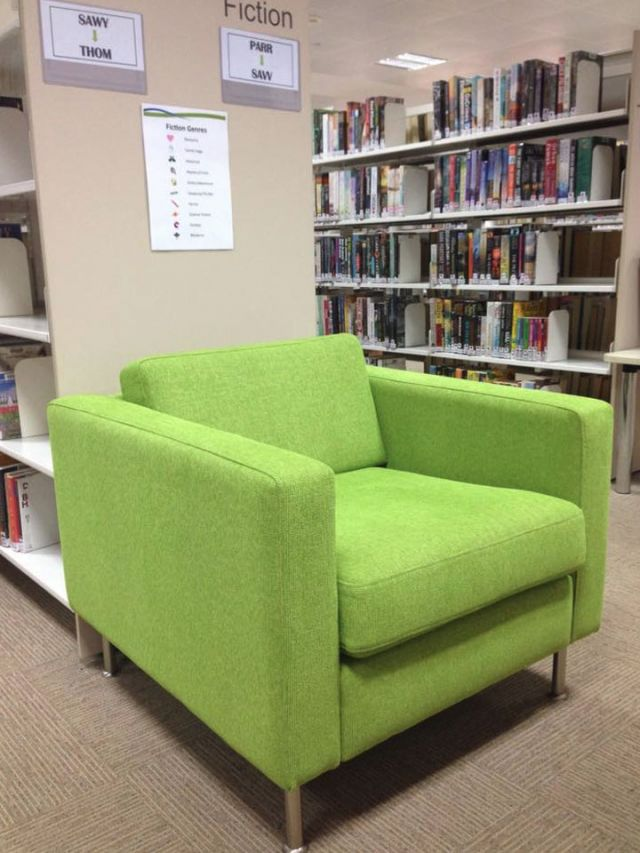 Conference Chairs - commercial furniture restoration, reupholstery - Hawkesbury Library, Windsor, Western Sydney