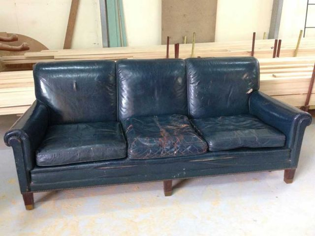 3 Seater Lounge - Domestic Furniture Restoration & Reupholstery - Windsor, Hawkesbury, Western Sydney