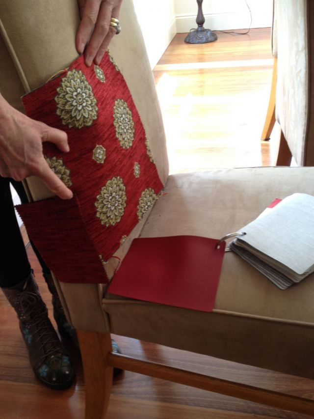 Dining Chair - Domestic Furniture Restoration & Reupholstery - Windsor, Hawkesbury, Western Sydney