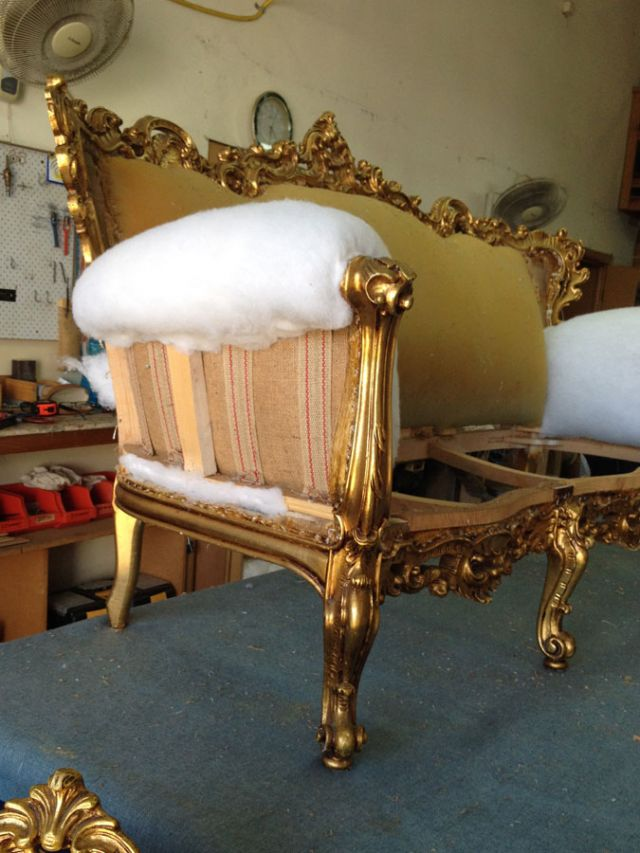 Baroque Suite - Domestic Furniture Restoration & Reupholstery - Windsor, Hawkesbury, Western Sydney